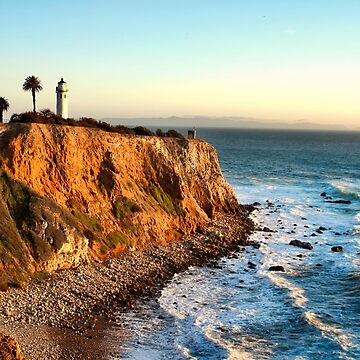 Point Vicente Lighthouse in Palos Verdes  by DianaG