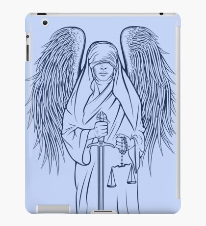 Blind Justice iPad Case/Skin