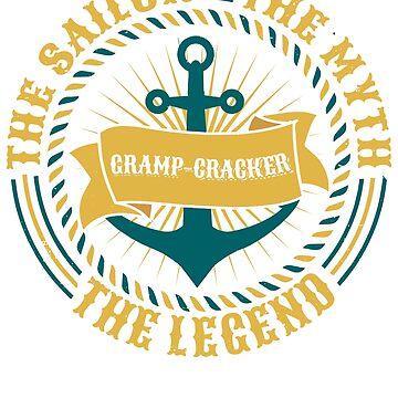 Gramp-Gragker The Sailor The Myth The Legend Father's day xmas gift by BBPDesigns