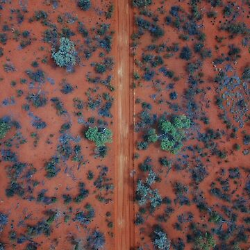 Red Centre  by The-Drone-Man