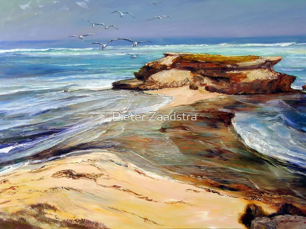 Post Office Rocks - Beachport, South Australia by Tanya Zaadstra
