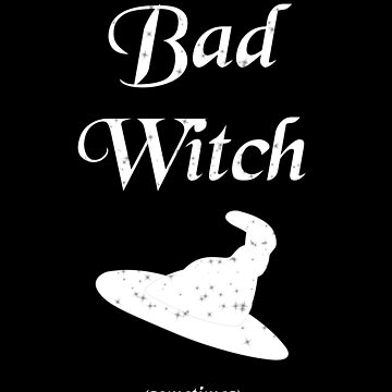 Bad Witch (white) by svehex