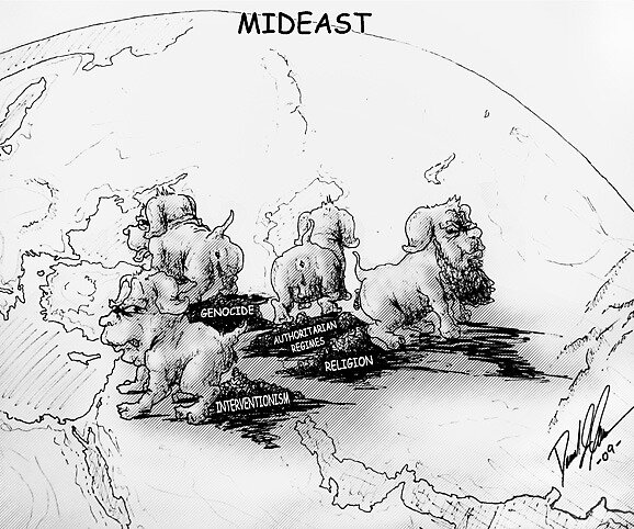 Mideast  by liquidnerve