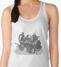 Ancient steam machine #steampunk #steampunkstyle #steampunkfashion #steampunkclothing #Cyberpunk #Dieselpunk #Fantasy #ScienceFiction #Ancientsteammachine #Ancient #steam #machine #steammachine Women's Tank Top