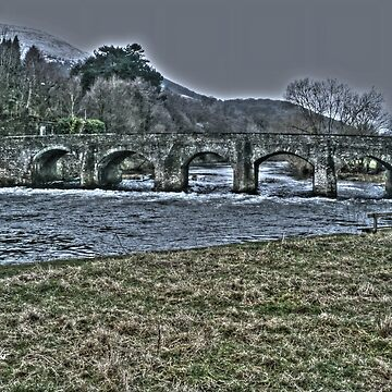 Bridge Over The River Usk by raytylerimages