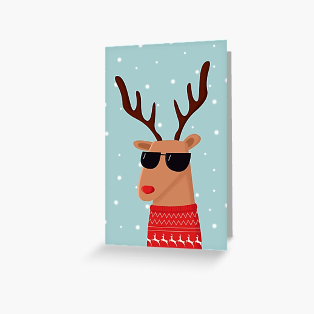 Merry Christmas Dude! Greeting Card