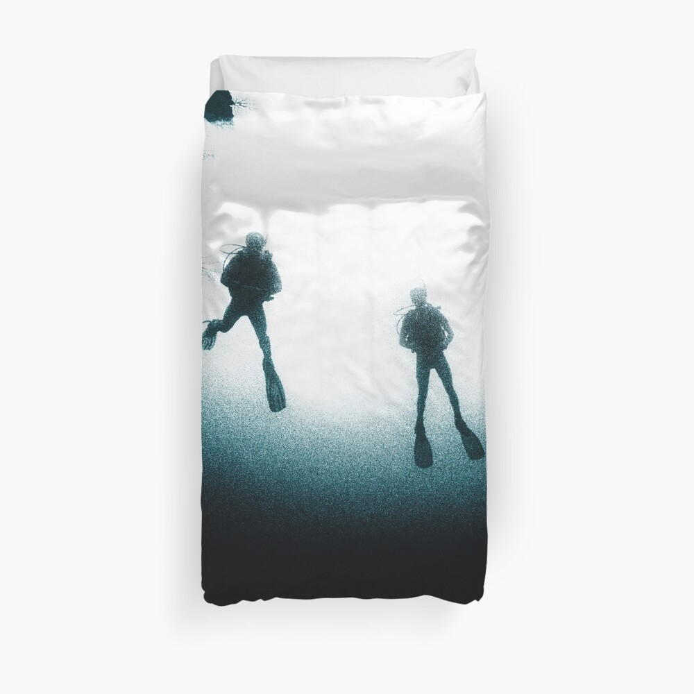 Deep Dive Duvet Cover