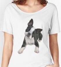 Boston head tilt Women's Relaxed Fit T-Shirt
