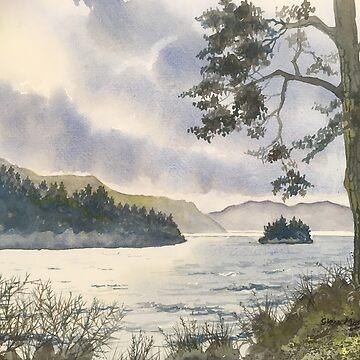Evening on Derwentwater by treeman