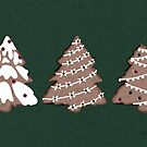 a bite out of christmas - cookies on evergreen by freeinthelines