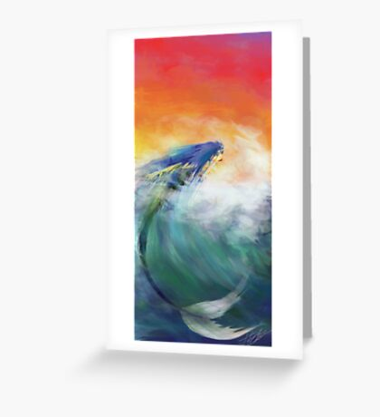 Zeb's Mermaid Greeting Card