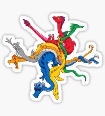 Dragon DC Metro Map Sticker