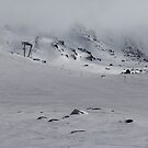 View from Eagle's Nest - Snowy Mountains  by Achim Casties
