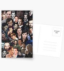Benedict Cumberbatch Collage Postcards
