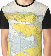 Vintage Map of San Juan PR (1967) Graphic T-Shirt