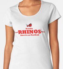 Rhinos Football - Black Women's Premium T-Shirt