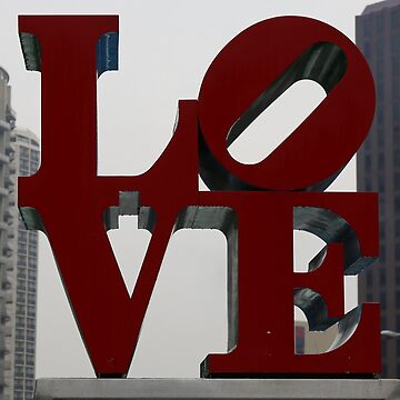 Love Philadelphia Sculpture by stine1