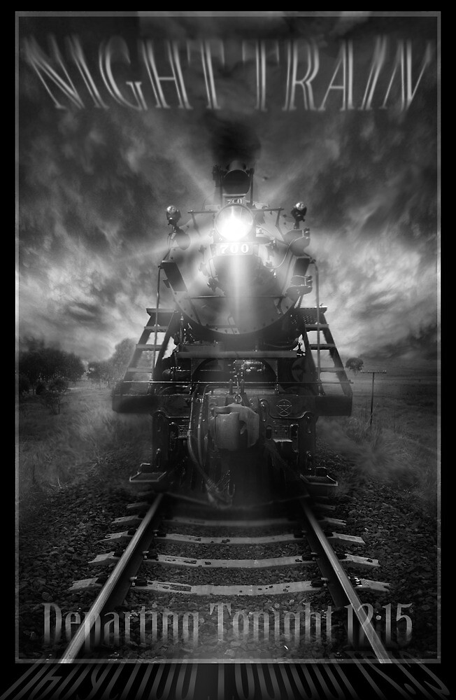 Night Train ( Book Cover ) by Cliff Vestergaard