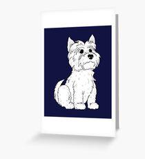 Westy, Dog Gone It Greeting Card