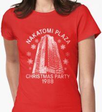 Nakatomi Weihnachten Tailliertes T-Shirt