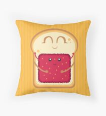 Hug the Strawberry Throw Pillow