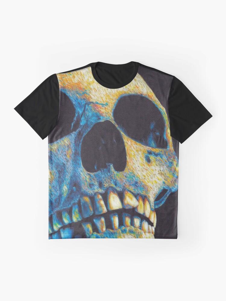 Vista alternativa de Camiseta gráfica Ignis aeternum