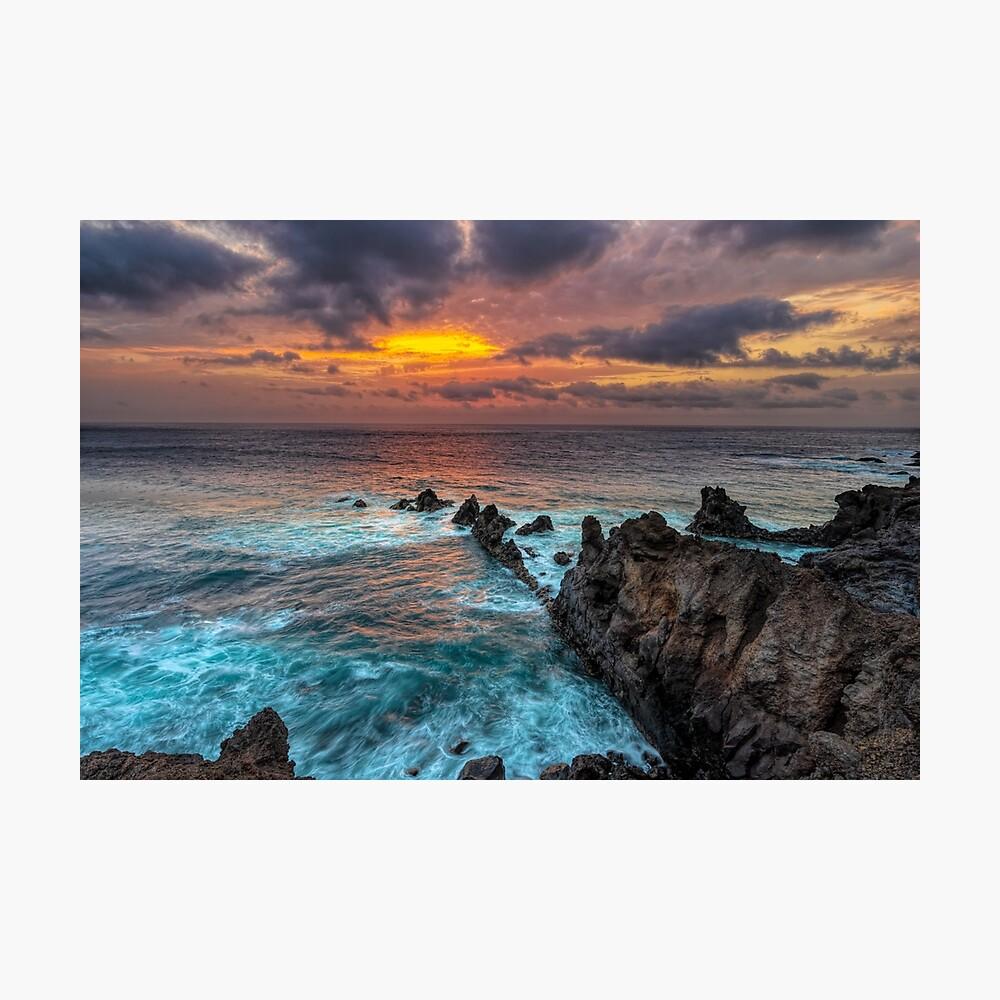 Sunset rock point Photographic Print