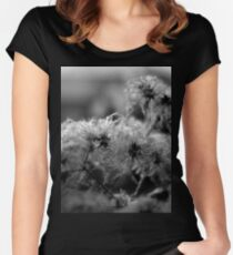 Botanical Monochrome 5630 Women's Fitted Scoop T-Shirt
