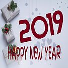 2019 Happy New Year by Vickie Emms