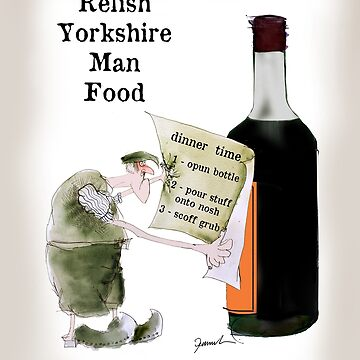 No.36 Relish Yorkshire Man Food by tonyfernandes1