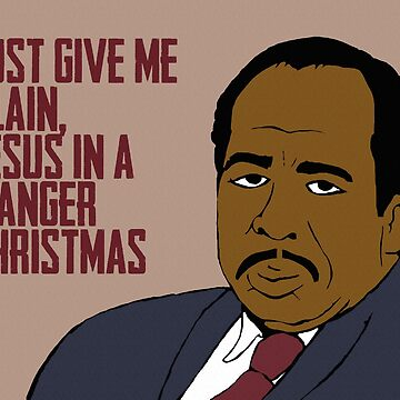 Just Give Me Plain, Jesus in a Manger Christmas by ToruandMidori