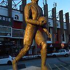 Joe Shaw Statue, Sheffield United by wiggyofipswich