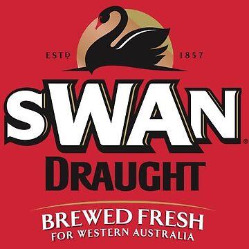 Swan Draught Beer by Jtunes84