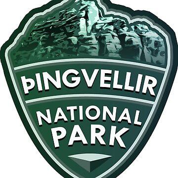 Þingvellir National Park Simple by tysonK