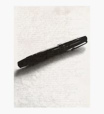 An Author's Tool Photographic Print