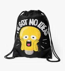 I've Got No Ideas Drawstring Bag