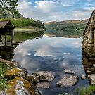 Gwynant Lake Boat House by Adrian Evans