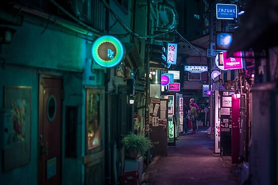 Tokyo at night - Golden Gai by Guillaume Marcotte