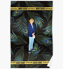 DIANA CELLPHONE CASE - PEACOCK FEATHERS - SUSSEX SQUAD Poster