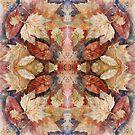 Leaf Mandala no 8 by Lisbeth Thygesen