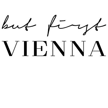 But first Vienna by PCollection