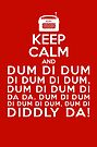 Keep Calm and Dum di dum .... Archers Theme Tune Barwick Green by shufti