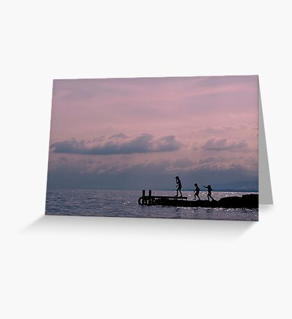 Lake Annecy Greeting Card
