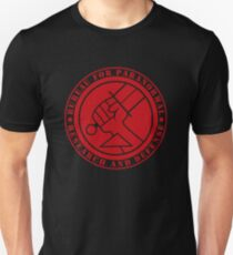 Bureau for Paranormal Research and Defense Slim Fit T-Shirt