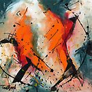 Abstract Art Forty-Seven by Lynne Taetzsch