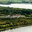 Fort Ticonderoga Lake Champlain Autumn Fall by ValeriesGallery