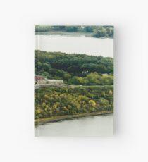 Fort Ticonderoga Lake Champlain Autumn Fall Hardcover Journal