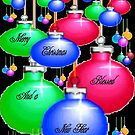 Ornaments...Christmas card by MaeBelle