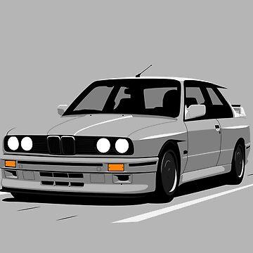 Grey E30 by ApexFibers