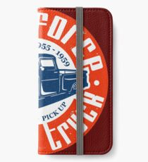 Task Force Apache Classic Truck 1955 - 1959 iPhone Flip-Case/Hülle/Skin